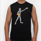Basket blanco - Camiseta Fruit Of The Loom sin mangas